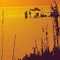 Sunset Beach by Ian  MacDonald