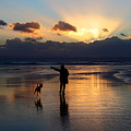 Sunset Beach Inspiration by James Brunker