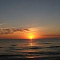 Sunset Beach by Judy  Waller