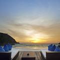 Sunset Beach by Setsiri Silapasuwanchai