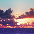 Sunset Behind Clouds by Vince Cavataio - Printscapes