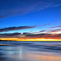 Sunset Blue by Dennis Wat