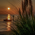 Sunset Boat Ride by Jerry Gammon