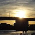 Sunset Bridge by Elsie Figuora