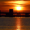 Sunset Bridge by  Newwwman