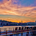 Sunset Budapest by Keith Ducker