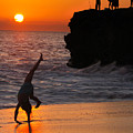 Sunset Cartwheel by Jill Reger