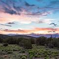Sunset Cerillos by Steven Natanson