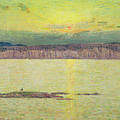 Sunset by Childe Hassam