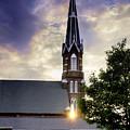 Sunset Church by Rikk Flohr