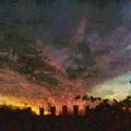 Sunset Cloud Impression by Tawes Dewyngaert