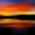 Sunset Colors - Impressionistic by TL Mair