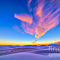 Sunset Colors Over White Sands National by Alan Dyer