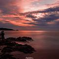 Sunset Couple by Sayantan Sen