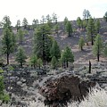 Sunset Crater Volcano National Monument - 2 by Christy Pooschke