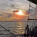 Sunset Cruise by Linda Vodzak