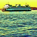 Sunset Cruise On The Ferry by Craig Perry-Ollila