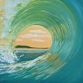 Sunset Curl by Jenn C Lindquist