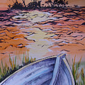 Sunset Dinghy by Paul Choate