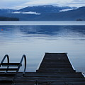 Sunset Dock At Priest Lake by Carol Groenen