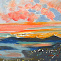 Sunset El Cerrito Ca by Suzanne Cerny