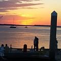 Sunset Embrace by Sandra Carter