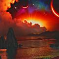 Sunset Fantasy  by Ron Fleishman
