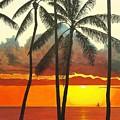 Sunset by Flavia Lundgren