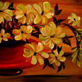Sunset Floral by Sandra Young Servis