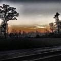 Sunset Fog by Gina Welch