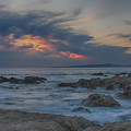 Sunset From Pacific Grove by Bill Roberts