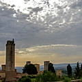Sunset From San Gimignano by Jean Haynes
