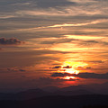 Sunset From The Blue Ridge Parkway Ll by John Harmon