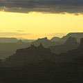 Sunset From The Eastern Rim by Brian M Lumley