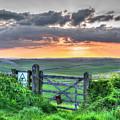Sunset Gate by Hazy Apple