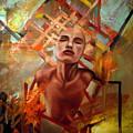 Sunset Girl by Flamur Miftari