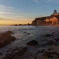 Sunset Glow At Corona Del Mar by Cliff Wassmann