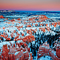 Sunset Glow Of A Hoodoo Nation by Irene Abdou