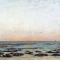 Sunset by Gustave Courbet
