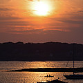 Sunset, Harpswell, Maine #20052 by John Bald