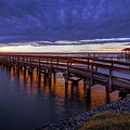 Sunset Hilton Pier 2 by Jerry Gammon
