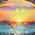 Sunset IIi by George Pasini