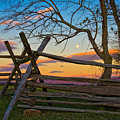 Sunset In Antietam by Ronald Lutz