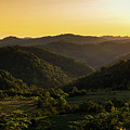 Sunset In Appalachia by Cris Ritchie
