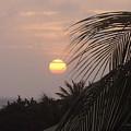 Sunset In Aruba by Donna  Davis