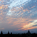 Sunset In Bagan by Michele Burgess
