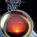 Sunset In Bell Of Sax by Garry Gay