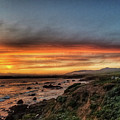 Sunset In Cambria by Aaron James