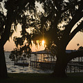 Sunset In Central Florida by Christopher Purcell
