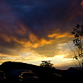 sunset in Cody wy by Clint Stussi